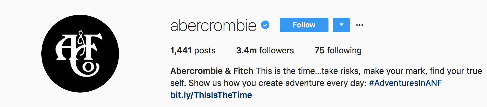 Abercrombie Instagram 2