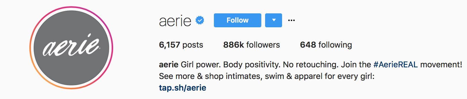 Aerie Instagram 2
