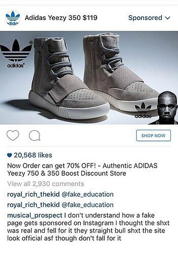 e6104c3e828 Adidas Goes After Counterfeit Sellers on Instagram