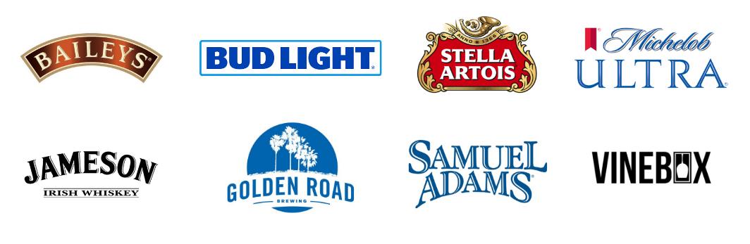 alcohol logos