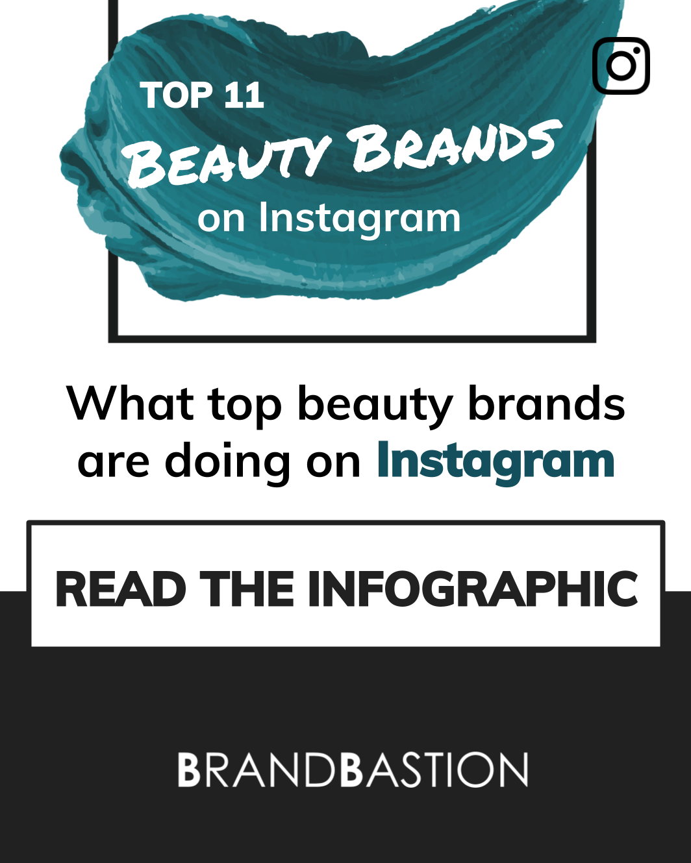 Infographic: Top 11 Beauty Brands on Instagram