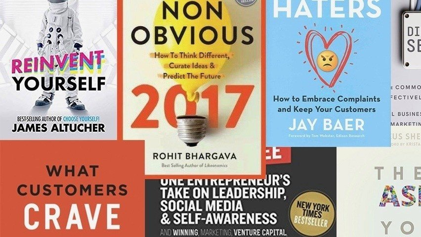 8 New Books to Fix Your Marketing Strategy Before 2018