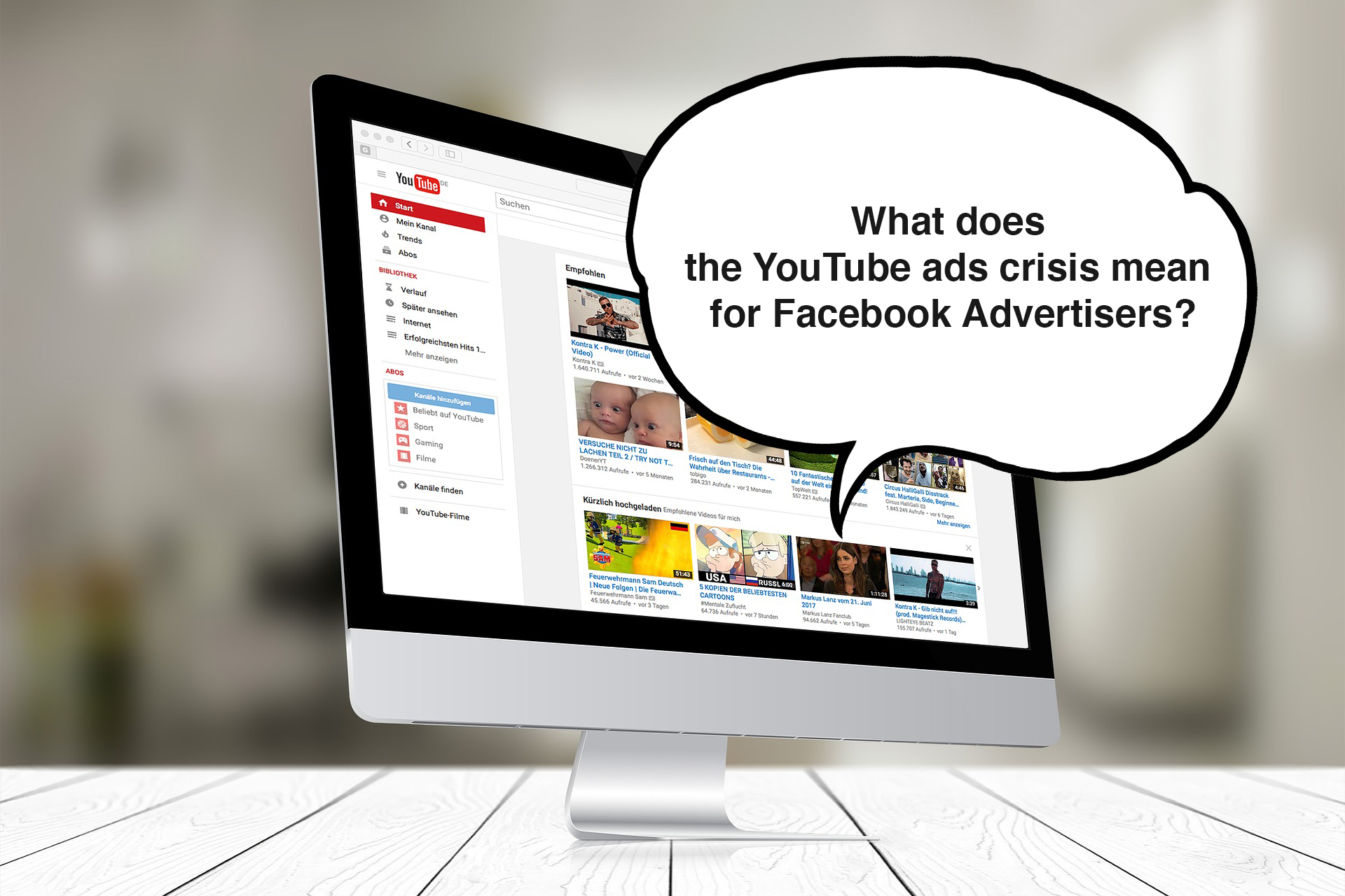 What does the Youtube ads crisis mean for Facebook Advertisers?